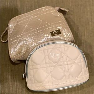 Dior Beauty Bags - Dior Beauty set of two mini bags